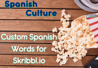 Custom Spanish words for Skribbl.io