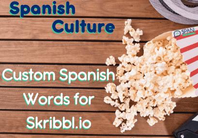 Custom Spanish words for Skribbl.io